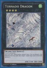 Yugioh MACR-EN081 Tornado Dragon Secret Rare - Unlimited