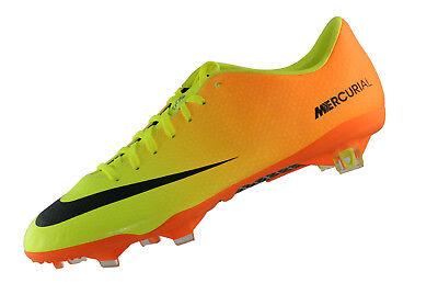 Nike Mercurial Vapor IX FG Volt 555605 708, Gelb (VoltBlack