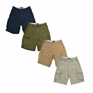 Polo-Ralph-Lauren-Mens-Shorts-Gellar-Fatigue-Cargo-Casual-Flat-Front-29-30-31-33