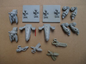 D11C20 DREADNOUGHT SPACE CRUSADE x2 WARHAMMER 40000 W40K USED