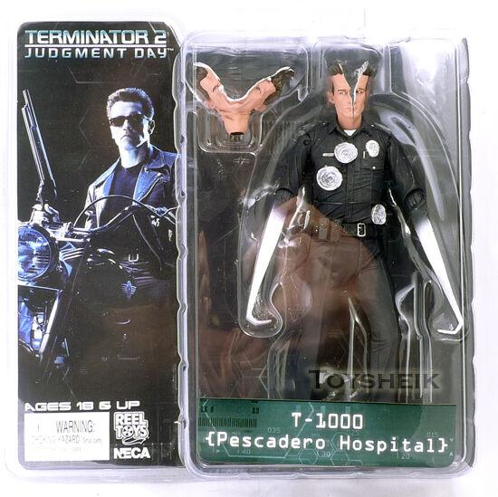 Terminator s3 T-1000 Pescadero Krankenhaus Figur Neca 398487