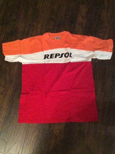 NEW HONDA REPSOL RACING  T-SHIRT MARQUEZ HAYDEN includes FREE blue Repsol hat