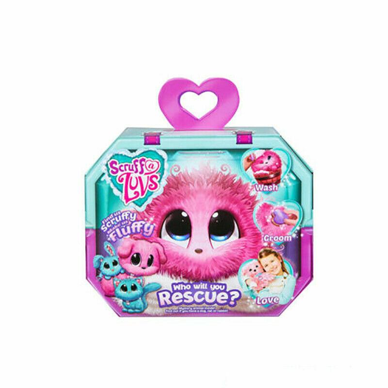 UK Hot Scruff-A-Luvs Rescue Plush Little Live Doll Toys Pets Kids Birthday Gifts 4