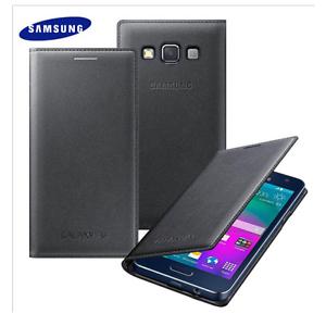 quality design 2b688 18e54 Details about Genuine Samsung FLIP CASE GALAXY A3 SM A300FU mobile cell  phone cover original B