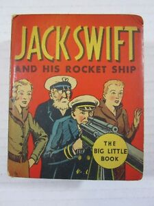 Jack-Swift-and-His-Rocket-Ship-Whitman-1934-Big-Little-Book-Fine-Condition