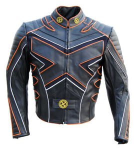 X-Men-3-The-Last-Stand-Motorcycle-Leather-Jacket-Orange-Liner-Wolverine-Costume