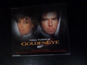CD SINGLE  TINA TURNER  GOLDENEYE - NORWICH, Norfolk, United Kingdom - CD SINGLE  TINA TURNER  GOLDENEYE - NORWICH, Norfolk, United Kingdom