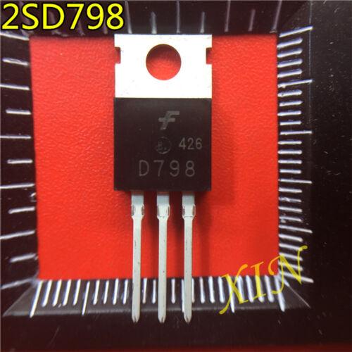 6A 10PCS 2SD798 encapsulación transistores de alimentación: TO-220 30W 300V