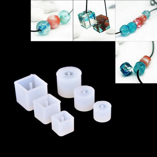 1X DIY Silikon Form Halsketten Korn Anhänger mit hängender Loch Herstellung^~^