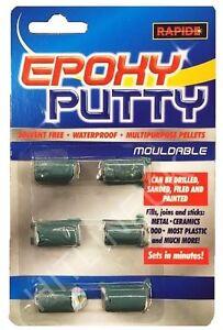 Waterproof Epoxy Putty Repair Pellets 6 x 5g Ceramic Metal Plastic Filler HLU