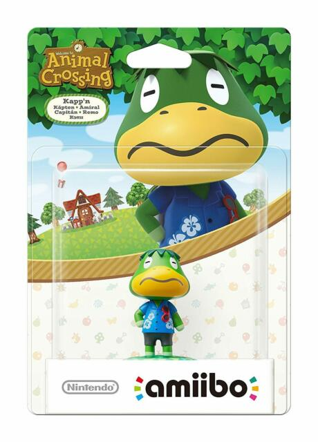 Kapp'n amiibo - Animal Crossing Series - Wii U Animal Crossing Series Edition