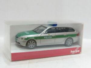 HERPA 046107 BMW 5er TM Polizei OVP 1:87 MW 7770