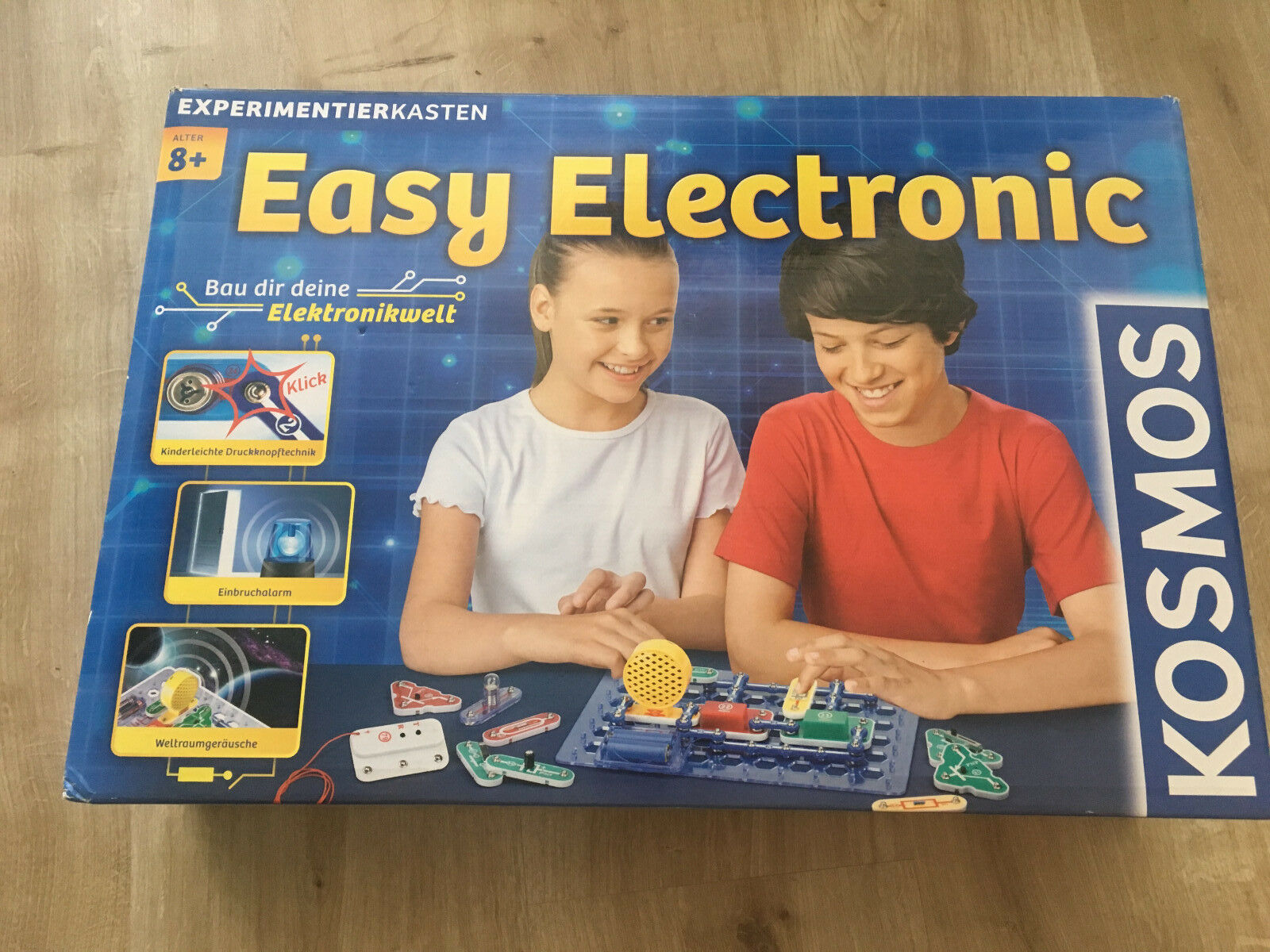 KOSMOS Easy Electronic Experimentierkasten 8+ / Elektronik Baukasten
