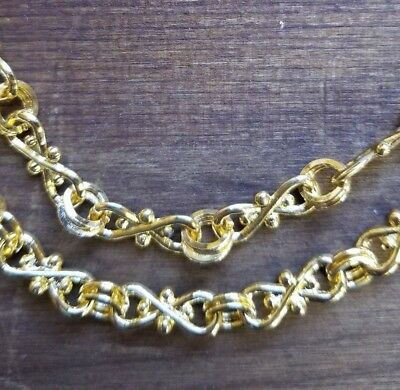 """12/"""" 18/"""" Sterling Silver Bulk Footage Chain 2.5mm Knot 8 Figure #97638"""