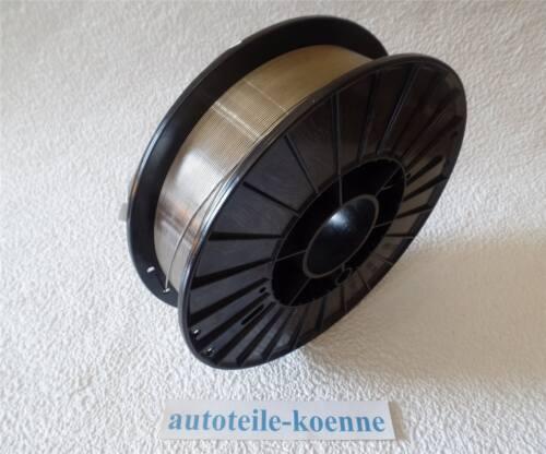 Schutzgas sudor alambre de acero inoxidable v4a, 1.4576, Ø 1,0 mm, 5 kg de bobina