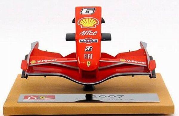 1 12 Amalgam Ferrari F2007 Formel 1 Nos Cone Kimi Raikkonen No6 MY RARE NY