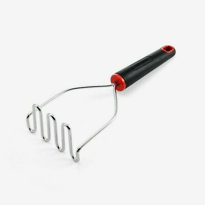 Farberware POTATO MASHER Comfort Grip Stainless Steel Wire Head Safe 5211649 NEW