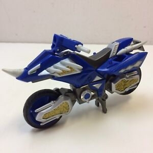 Details about Power Rangers Dino Thunder BLUE HOVERCRAFT MOTORCYCLE Vehicle  Bandai Figure VGUC