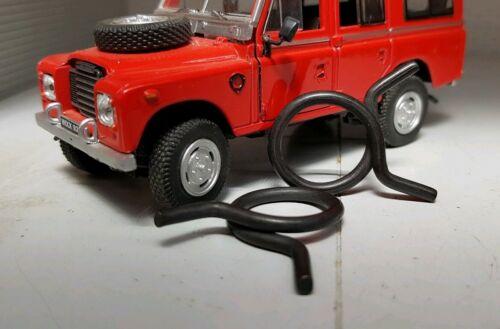 Sfiato del serbatoio del combustibile Sfiato Fascette x2 Land Rover Serie 2 2a 3 Defender 572839