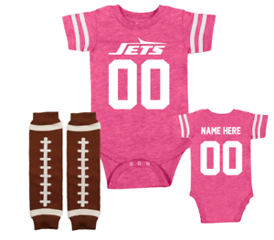 bodysuit Jets fan customized personalized NAME NUMBER new york ny baby