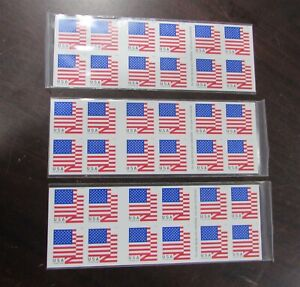 Forever Stamps USPS 2017 US Flag US First Class Postage 60 Stamps
