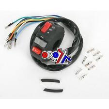 Universal Moto izquierda Interruptor Luces Indicador Cuerno Interruptor Handler