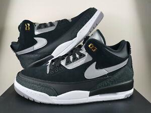 Détails sur Nike Air Jordan 3 Retro Tinker Basketschaussures noirblanc Chaussures afficher le titre d'origine