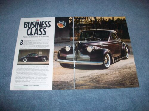 "1939 Buick Special 46 Coupe Street Rod Article ""Business Class"""