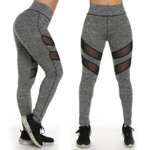 TOP Fashion Ladies Yoga Fitness Running Leggings Gym Exercise Sports ... 2ef286a1aa4
