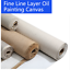 Blank-Canvas-Roll-Oil-Painting-Linen-Blend-Primed-High-Quality-Artist-Supplies thumbnail 1