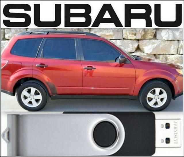 Subaru Forester Factory Service Manual  U0026 Wiring Diagrams 2009