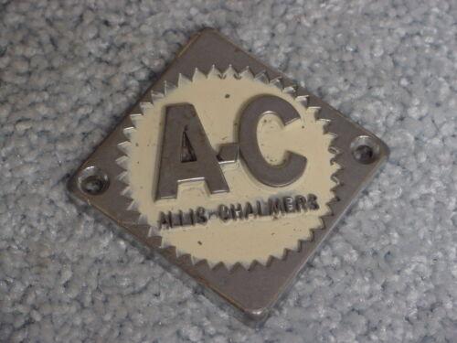 AC ALLIS CHALMERS TRACTOR LOGO METAL STEERING WHEEL CENTER