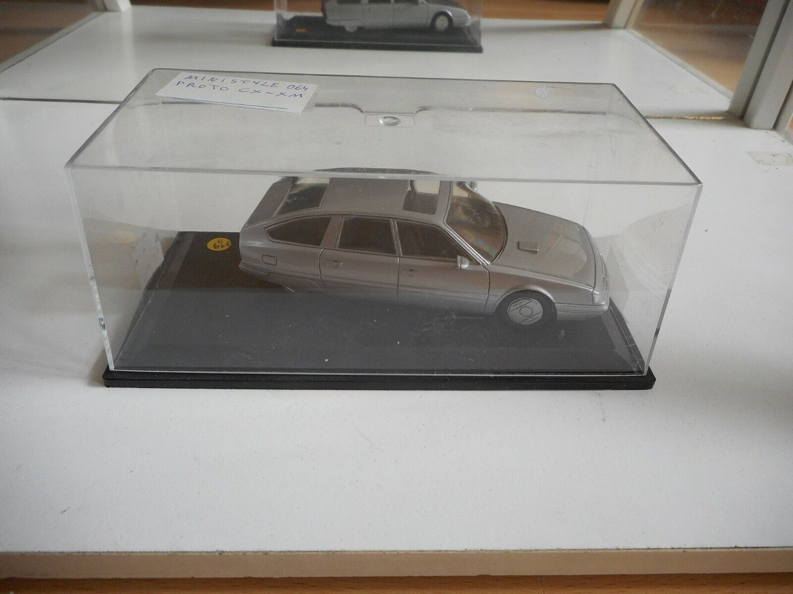 Ministyle Prototype Citroen CX - XM in grau on 1 43 in Box