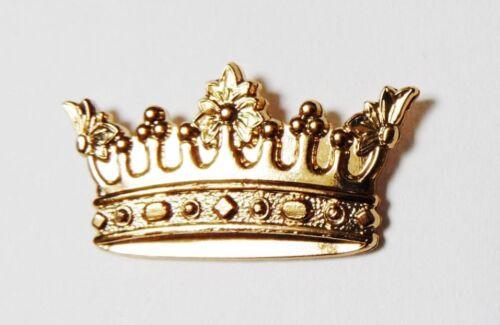 pin/'s doré couronne