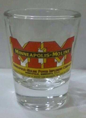 A Very Nice Minnieapolis Moline 1 1//2 oz Shot Glass  # 019