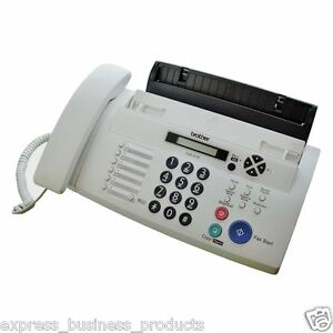 Brother FAX-878 Plain Paper Thermal Fax Copier Phone