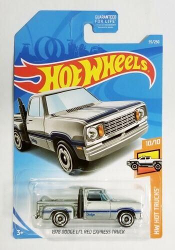 Hot Wheels 1978 Dodge Lil Red Express Truck Hot Trucks 10//10 #55//250