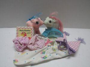 MY LITTLE PONY G1 VINTAGE NEWBORN TWINS BABY SLEEPTIGHT SLEEPY HEAD  ACCESSORIES