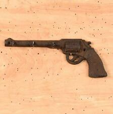 Rustic Primitive Cast Iron Pistol Gun Hook Western Cowboy Ranch Lodge Decor