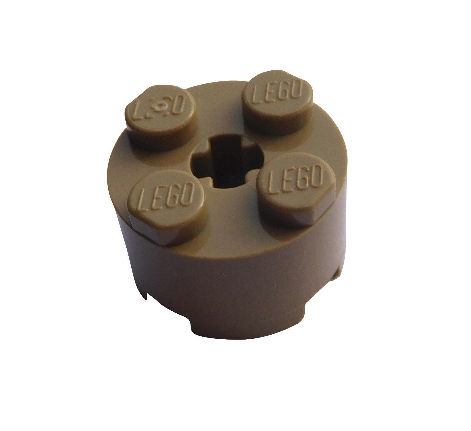 Lego 3941-4x Brique Ronde 6143 6116 39223 Neuf Tr Orange Brick Round 2x2