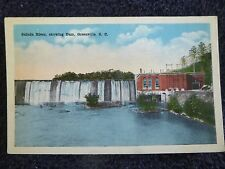 1920's The Saluda River, Showing Dam in Greenville, SC South Carolina PC