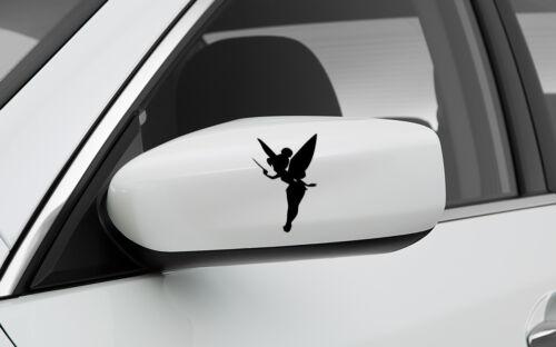 TINKERBELL SET OF 2 SIDE MIRROR GRAPHIC VINYL DECAL CAR TRUCK STICKER 3x3
