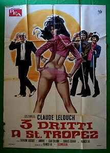 M23-Manifesto-4F-Tres-3-Recto-En-St-Tropez-Claude-Lelouch-Allegret-Lai-Achin
