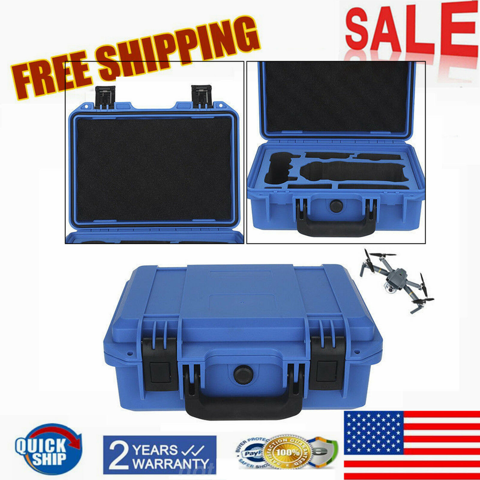 Hardshell   Waterproof Carrying Case Suitcase for DJI Mavic Pro Drone Quadcopter