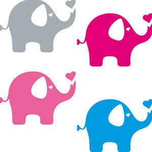 Elephant-7-7-8in-Tattoo-Sticker-Car-Window-Decoration-Film-Mural-Border