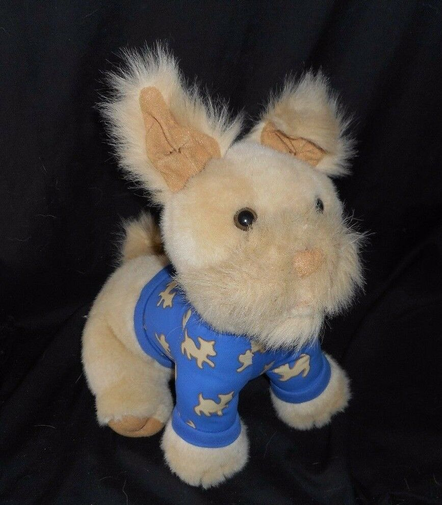 VINTAGE 1994 AVON CHATTING CHESTER TALKING PUPPY DOG STUFFED PLUSH TOY WORKS