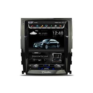 """For Cadillac Escalade 2007-2014 Android 7.1 Tesla screen 10.4"""" Car radio GPS"""