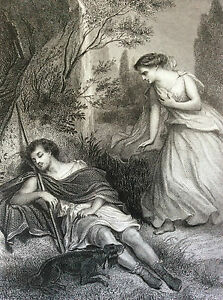 Eudore-and-Cymodocee-the-Martyrs-Rock-Band-Musician-Gilquin-Dupain-circa-1859