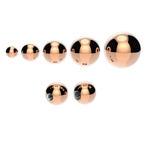 Bolas de repuesto para Vientre//Pezón//Tragus//Labret//Lengua//Oreja Piercings