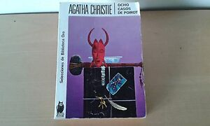 Usado-OCHO-CASOS-DE-POIROT-Agatha-Christie-Item-For-Collectors